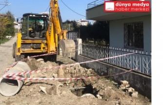 Büyükşehir Belediyesi Altyapı çalışmalarına aralıksız Devam ediyor!