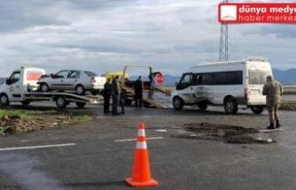 Kırıkhan'da Korkutan Kaza: 5 Yaralı!