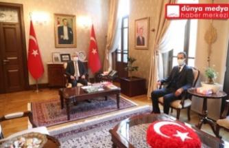 Yayladağı Belediye Başkanı Yalçın Vali Doğan'ı Ziyaret Etti!
