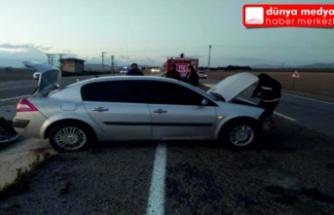 Reyhanlı - Kırıkhan yolunda Kaza 1 Yaralı!
