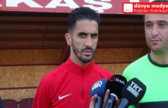 """Atakas Hatayspor Teknik Direktörü   Ömer Erdoğan:   """"Rakibinden daha fazla mücadele eden  bir takım izletmek istiyoruz"""""""