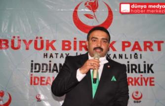 Dörtyol BBP'de Nazmi Kıymacı   Güven Tazeledi