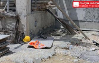 Hassa'da  İnşaatın 6. Katından düşen İşçi   Yaşamını Yitirdi