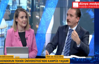 İSTE Rektörü Prof. Dr. Tolga Depçi   TVNET'e Konuk Oldu