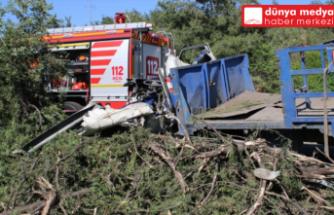 Hatay'da bariyere çarparak devrilen    kamyonun sürücüsü vefat etti