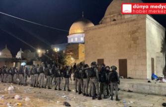 İsrail'den Mescid-i Aksa'ya Alçak Saldırı