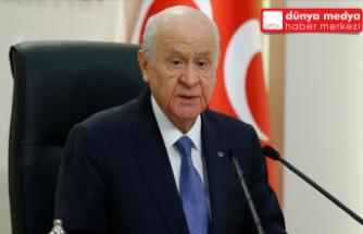 """MHP Lideri Bahçeli: """"İsrail Hükümetini lanetliyoruz"""""""
