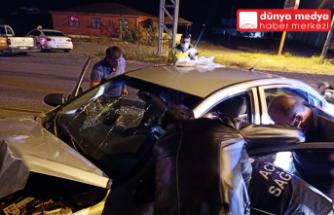 Dörtyol'da meydana gelen trafik kazasında polis memuru hayatını kaybetti