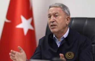 "Bakan Akar'dan Yunanistan'a  ""Silahlanma yarışı"" tepkisi"
