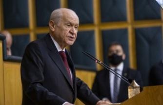 MHP Lideri Bahçeli'den  yardım taleplerine sert tepki