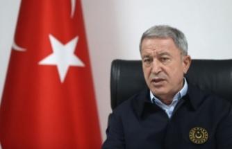 Milli Savunma Bakanı Hulusi Akar:   Ocak 2021'den itibaren 1976 terörist   etkisiz hale getirildi