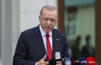 Cumhurbaşkanı Erdoğan'dan olası Suriye   harekatı mesajı: Sabrımız bir yere kadar
