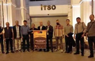 İTSO Heyeti Güvenli İş Güvenli   Gelecek Projesi Kapsamında Proje   Ortakları ile Almanya'ya Gitti