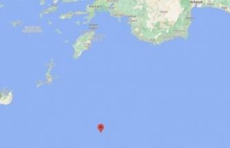 Kaş'ın 155 km açığında   6 büyüklüğünde deprem!