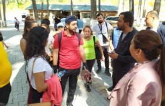 Yayladağı Devrent Sosyal   Tesislerine ziyaretçi akını