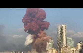 Lübnan'ın başkenti Beyrut'ta büyük bir patlama yaşandı