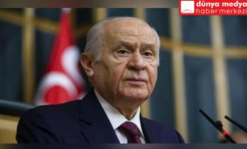 MHP LİDERİ BAHÇELİ HDP'ye düzenlenen saldırıya tepki gösterdi