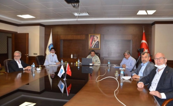 İTSO'da Video Konferans Yöntemiyle Meclis Toplantısı Yapıldı