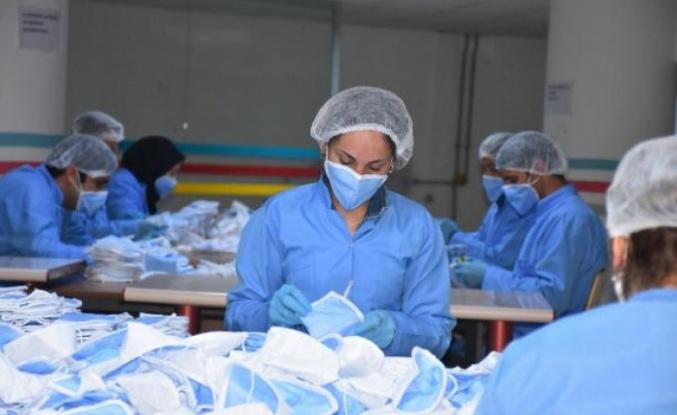 Malatya'da üretilen bu maske 1 milyar sipariş aldı