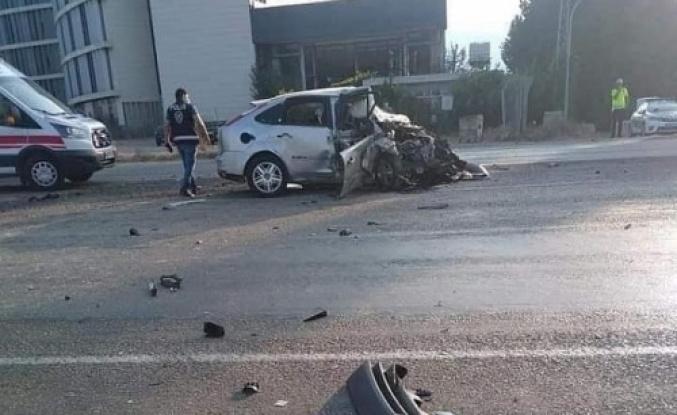 Dörtyol'da feci kaza 1 kişi öldü 1 kişi yaralandı…