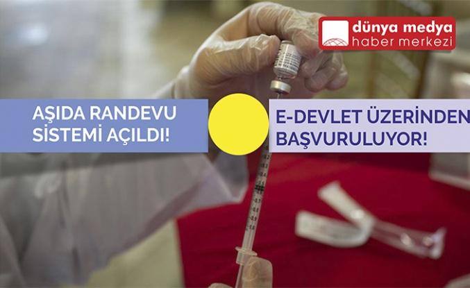 Aşıda Randevu Sistemi Açıldı!