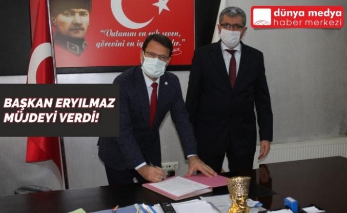 Başkan Eryılmaz Müjdeyi Verdi!