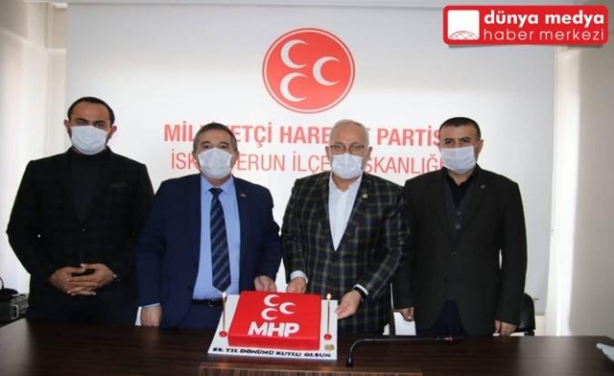 Başkan Tosyalı MHP'nin Yıldönümünü Kutladı!
