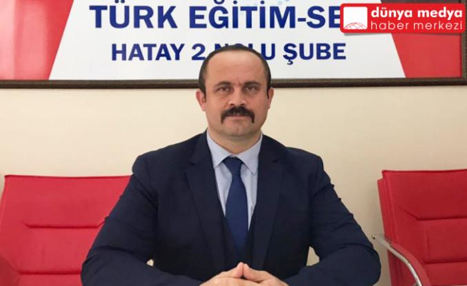 """Türk Eğitim-Sen Başkanı Yanık: """"Öğretmenlerin aşıları nerede?"""""""