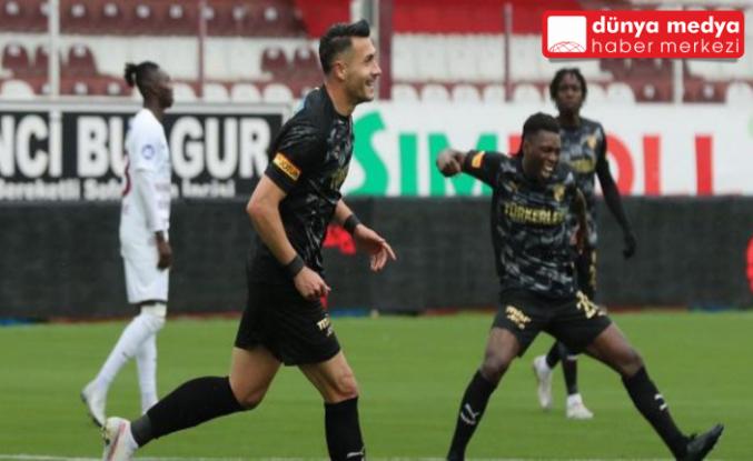 Atakaş Hatayspor kendi evinde Göztepe'ye Mağlup Oldu  2 - 3