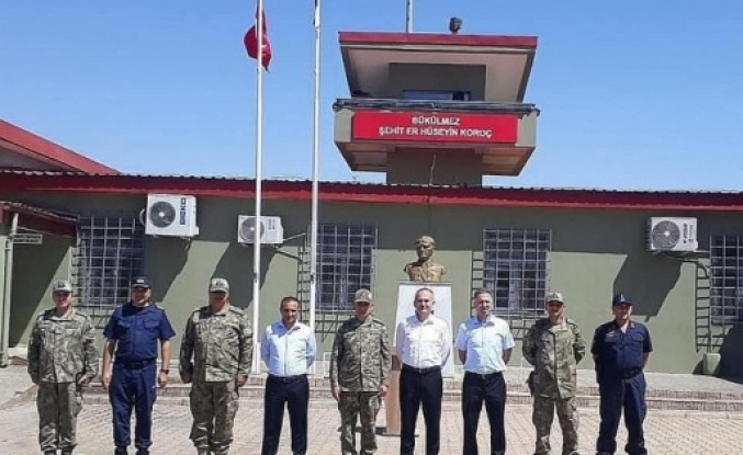 İskenderun protokolü   Suriye sınırında!