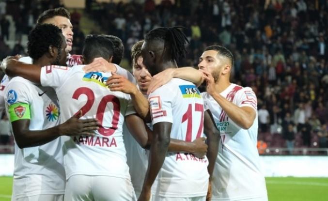 HATAYSPOR'UN ZİRVE   TAKİBİ SÜRÜYOR!    2-1