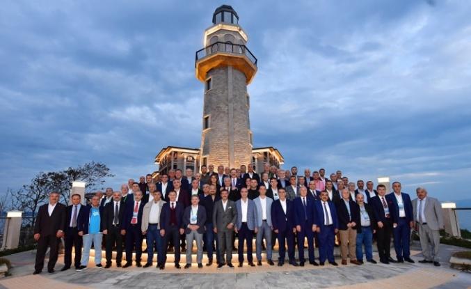 İTSO Meclis Başkanı Okan   Belli, Özgürlük Adasında   İstişare Toplantısına Katıldı