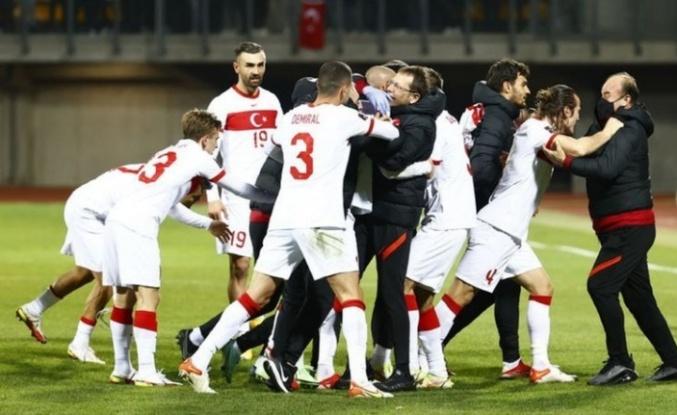 Letonya: 1 - Türkiye: 2 | MAÇ SONUCU