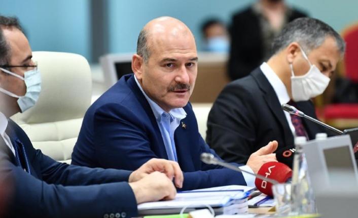 İçişleri Bakanı Soylu: Toplanma alanlarına ilişkin tahliye plan tatbikatı yapacağız