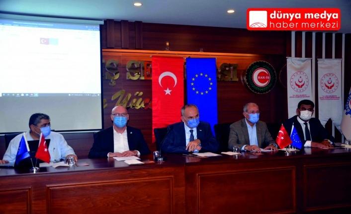 İTSO Yönetimi Güvenli İş Güvenli  Gelecek Projesi Toplantısına Katıldı