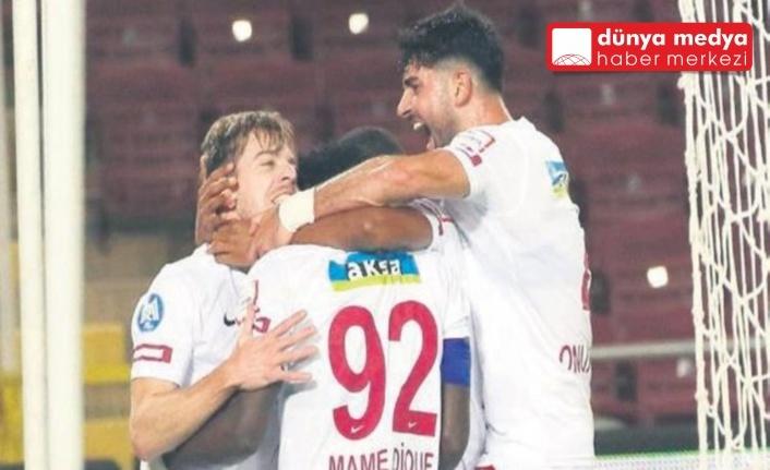 ATAKAŞ HATAYSPOR   KAYSERİSPOR'U DEVİRDİ: 2- 1!
