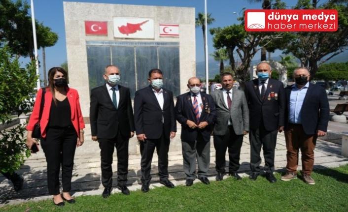 K.K.T.C. BAŞBAKANI   ERSAN SANER İSKENDERUN'DA!