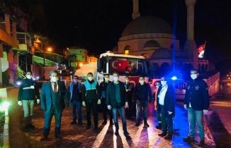 Belen Belediye Başkanı İbrahim Gül gece gündüz demeden çalışıyor